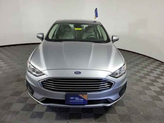 Certified 2020 Ford Fusion SE with VIN 3FA6P0T98LR107467 for sale in Shakopee, Minnesota