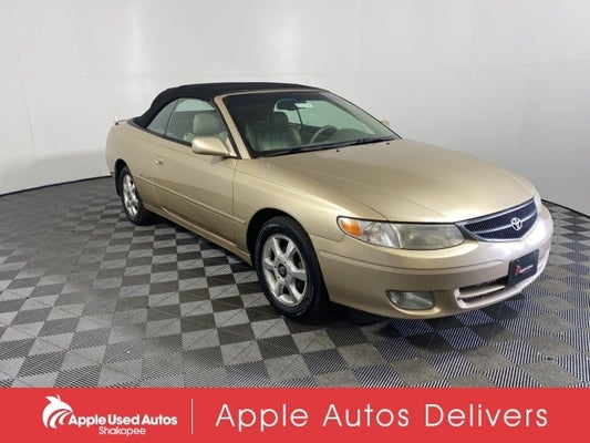 2001 toyota camry solara se v6 in shakopee mn minneapolis toyota camry solara apple ford shakopee apple ford shakopee
